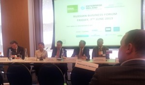 June 2013 Ireland Russia Business Association - Tatiana Kovalenko on the panel as a member