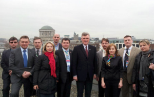 March 2012 Russian officials at Dublin City Council on online delivering municipal services