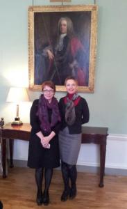 October 2012 assisting Natalya Gerbert from Finland at the meeting on human trafficking